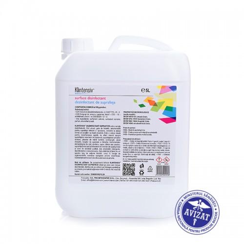 Klintensiv - Dezinfectanti pentru suprafete gata de utilizare 5 L