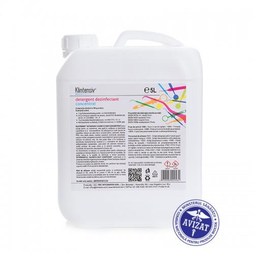 Detergent dezinfectant concentrat 5 L( 2% dilutie)