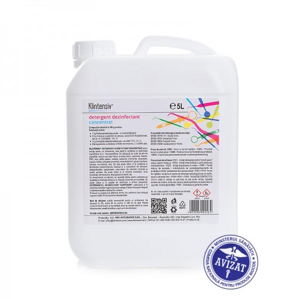 Detergent dezinfectant concentrat 2% dilutie