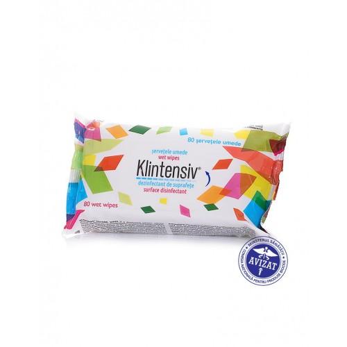 Servetele umede dezinfectante pentru maini 15 buc/pachet